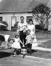 Family picture circa 1950's; Actual size=180 pixels wide